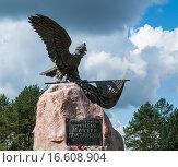 Купить «Памятник битве при Лесной. Белоруссия», фото № 16608904, снято 1 сентября 2013 г. (c) Виктор Пелих / Фотобанк Лори