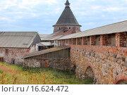 Внутренние постройки Соловецкого монастыря. Стоковое фото, фотограф Лидия Хвесюк / Фотобанк Лори