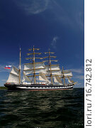 Купить «Tall Ship Kruzenshtern», фото № 16742812, снято 20 июля 2009 г. (c) easy Fotostock / Фотобанк Лори