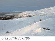 Купить «Заполярье, Хибинские горы в декабре», фото № 16757796, снято 18 декабря 2015 г. (c) Овчинникова Ирина / Фотобанк Лори