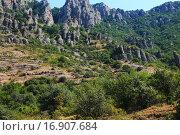 Гора Демерджи. Стоковое фото, фотограф Надежда Шапкина / Фотобанк Лори