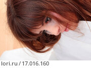 Купить «Abused young teen woman», фото № 17016160, снято 22 июля 2019 г. (c) easy Fotostock / Фотобанк Лори