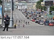 Купить «Садовая-Спасская улица. Москва», эксклюзивное фото № 17057164, снято 29 июня 2014 г. (c) lana1501 / Фотобанк Лори