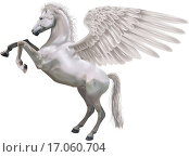 Купить «rearing Pegasus horse illustration», фото № 17060704, снято 19 ноября 2017 г. (c) easy Fotostock / Фотобанк Лори