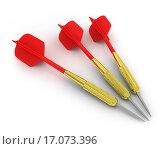 Купить «Three darts», фото № 17073396, снято 21 сентября 2019 г. (c) easy Fotostock / Фотобанк Лори