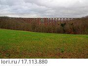 Купить «Göltzsch valley bridge», фото № 17113880, снято 8 апреля 2020 г. (c) easy Fotostock / Фотобанк Лори
