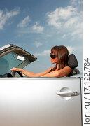 Купить «Girl and Car», фото № 17122784, снято 22 октября 2018 г. (c) easy Fotostock / Фотобанк Лори