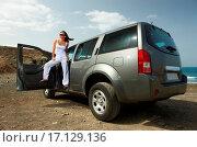 Купить «Girl and Car», фото № 17129136, снято 23 января 2019 г. (c) easy Fotostock / Фотобанк Лори