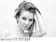 Портрет молодой женщины. Стоковое фото, фотограф Оксана Якупова / Фотобанк Лори