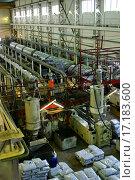 Купить «Factory on manufacture of pipes», фото № 17183600, снято 19 августа 2018 г. (c) easy Fotostock / Фотобанк Лори