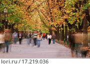 Купить «Autumn walk», фото № 17219036, снято 19 сентября 2018 г. (c) easy Fotostock / Фотобанк Лори