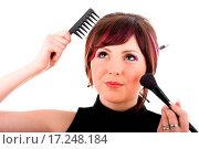 Купить «Young hairdresser woman», фото № 17248184, снято 19 января 2020 г. (c) easy Fotostock / Фотобанк Лори