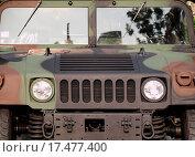 Купить «Powerful Army Off Road Vehicle», фото № 17477400, снято 22 октября 2018 г. (c) easy Fotostock / Фотобанк Лори