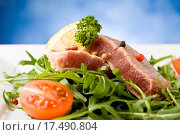 Sliced Tuna Steak. Стоковое фото, фотограф Francesco / easy Fotostock / Фотобанк Лори