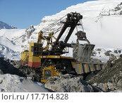 Погрузка апатитовой руды (2013 год). Редакционное фото, фотограф Андрей Усачев / Фотобанк Лори