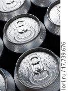 Купить «group of an aluminum can of soda», фото № 17739676, снято 4 июля 2020 г. (c) easy Fotostock / Фотобанк Лори