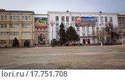 Столица Махачкала. Площадь Ленина (2015 год). Редакционное фото, фотограф Махсумов Шамиль / Фотобанк Лори
