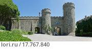 Купить «Западный вход в Воронцовский дворец. Алупка, Крым», фото № 17767840, снято 8 июня 2015 г. (c) Наталья Гармашева / Фотобанк Лори