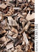Купить «Lifeless wood chips», фото № 17861592, снято 23 марта 2019 г. (c) easy Fotostock / Фотобанк Лори