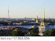 Адмиралтейство (2011 год). Стоковое фото, фотограф Верстуков Виктор / Фотобанк Лори