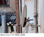 Купить «satellite antennas», фото № 17905256, снято 23 марта 2019 г. (c) easy Fotostock / Фотобанк Лори
