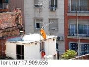 Купить «Antennas and buildings», фото № 17909656, снято 23 марта 2019 г. (c) easy Fotostock / Фотобанк Лори