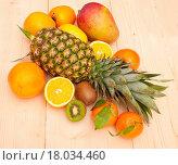 Купить «Tropical Fruits», фото № 18034460, снято 24 февраля 2018 г. (c) easy Fotostock / Фотобанк Лори