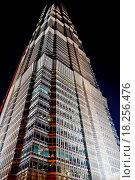 Купить «Skyscraper at Night», фото № 18256476, снято 18 января 2019 г. (c) easy Fotostock / Фотобанк Лори