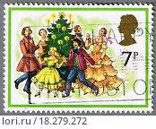 Купить «Dancing around the Christmas tree», фото № 18279272, снято 17 июля 2019 г. (c) easy Fotostock / Фотобанк Лори