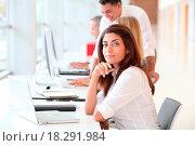 Купить «Closeup of businesswoman», фото № 18291984, снято 19 сентября 2018 г. (c) easy Fotostock / Фотобанк Лори