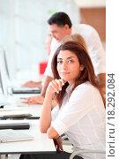 Купить «Closeup of businesswoman», фото № 18292084, снято 19 сентября 2018 г. (c) easy Fotostock / Фотобанк Лори