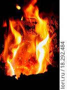 Купить «Wood fire cracking», фото № 18292484, снято 17 августа 2019 г. (c) easy Fotostock / Фотобанк Лори