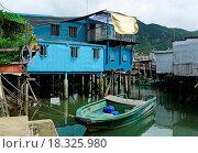 Купить «Tai O fishing village», фото № 18325980, снято 22 мая 2019 г. (c) easy Fotostock / Фотобанк Лори