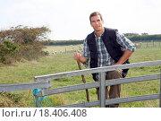 Купить «Shepherd in field», фото № 18406408, снято 24 января 2019 г. (c) easy Fotostock / Фотобанк Лори