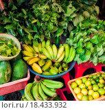 Купить «fresh fruit and vegetables», фото № 18433932, снято 12 июля 2020 г. (c) easy Fotostock / Фотобанк Лори