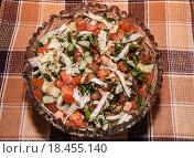 Овощной салат. Стоковое фото, фотограф Фотин Андрей / Фотобанк Лори