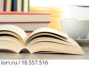 Купить «Composition with books on the table», фото № 18557516, снято 19 ноября 2019 г. (c) easy Fotostock / Фотобанк Лори