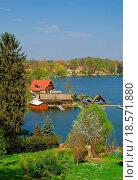 Купить «Idylle in der Uckermark in Brandenburg», фото № 18571880, снято 23 января 2019 г. (c) easy Fotostock / Фотобанк Лори