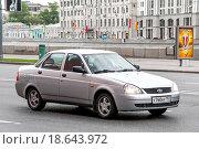 Купить «Lada Priora», фото № 18643972, снято 5 мая 2012 г. (c) Art Konovalov / Фотобанк Лори