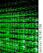 Инсталляция из пивных бутылок. Реклама пива туборг. (2016 год). Редакционное фото, фотограф Алёна / Фотобанк Лори