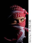 Купить «Man in a Keffiyeh», фото № 18760148, снято 23 июля 2019 г. (c) easy Fotostock / Фотобанк Лори