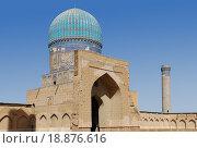 Малая мечеть. Соборная мечеть Биби-Ханум (2007 год). Стоковое фото, фотограф Elizaveta Kharicheva / Фотобанк Лори