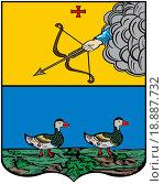 Купить «Герб города Яранск 1781 г. Кировская область», иллюстрация № 18887732 (c) Владимир Макеев / Фотобанк Лори