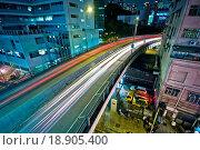 Купить «night view of the bridge and city», фото № 18905400, снято 13 ноября 2018 г. (c) easy Fotostock / Фотобанк Лори
