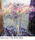 Купить «Натюрморт с букетом цветов», фото № 18915952, снято 12 ноября 2014 г. (c) Elizaveta Kharicheva / Фотобанк Лори