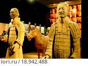 Купить «Terracotta warriors and horses», фото № 18942488, снято 10 июля 2020 г. (c) easy Fotostock / Фотобанк Лори