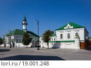 Купить «Старейшая Казанская соборная мечеть Аль-Марджани», фото № 19001248, снято 21 августа 2019 г. (c) Igor Lijashkov / Фотобанк Лори