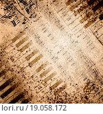 Купить «Music notes background», фото № 19058172, снято 21 января 2020 г. (c) easy Fotostock / Фотобанк Лори
