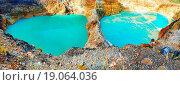 Купить «Kelimutu lakes», фото № 19064036, снято 26 мая 2020 г. (c) easy Fotostock / Фотобанк Лори