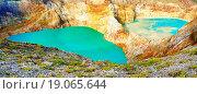 Купить «Kelimutu lakes», фото № 19065644, снято 26 мая 2020 г. (c) easy Fotostock / Фотобанк Лори